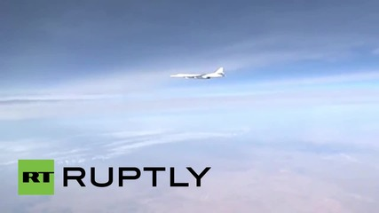 Syria: Russian Tupolev Tu-160 bombers target militant positions in Syria