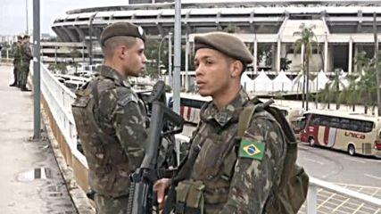 В Рио тренират здраво за откриването на Игрите