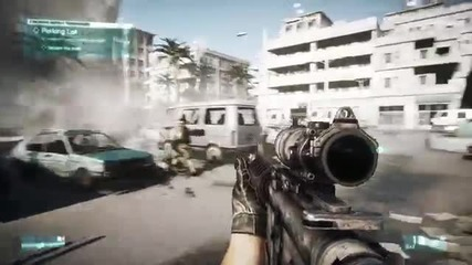 Battlefield 3 - 12 Minutes Of Gameplay !!