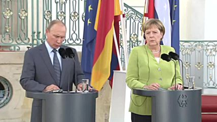 Germany: Merkel, Putin to talk Syria, Ukraine, energy at bilateral meeting