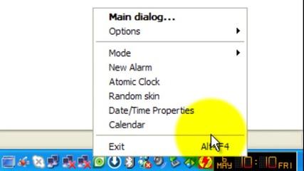 Atomic Alarm Clock - часовник за компа ви :)