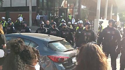 Canada: 26 arrested, violence erupts during protest against homeless eviction at Lamport Stadium