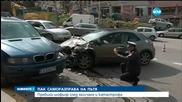 КЪРВАВА САМОРАЗПРАВА: Бой след катастрофа в София (СНИМКИ)