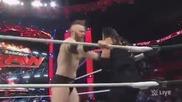 Wwe Raw 1/4/16 Roman Regns vs Sheamus