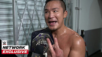 Kushida's oh-so-satisfying championship moment: WWE Network Exclusive, April 13, 2021