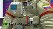 Най-новите костюми за космонавти в Русия