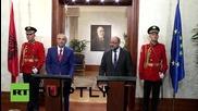 Albania: European Parliament President Schulz expresses satisfaction over Greek deal