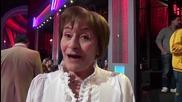Dancing Stars - Вера Маринова подкрепя Нели и Наско (08.05.2014г.)