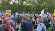 UK: Pro-refugee rally held against Nationality and Borders Bill in London