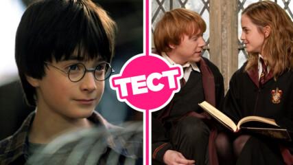 ТЕСТ: Можеш ли да се справиш с тези базови факти от филмите за Хари Потър?