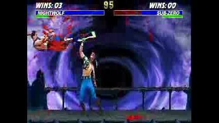 Mortal Kombat - Night Wolf 54%