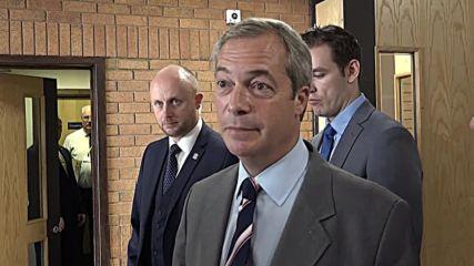 UK: 'I'm not packing up completely' - UKIP's Farage