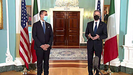 USA: Di Maio meets with Blinken on 160th anniversary of Italy-US relations