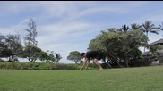 Гимнастическа тренировка за средно напреднали- пълна тренировка