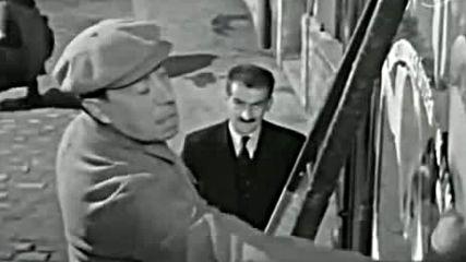 Фернандел и Луи дьо Фюнес, 1954 г.