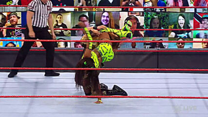 Nia Jax & Shayna Baszler vs. Naomi & Lana – WWE Women's Tag Team Championship Match: Raw, Mar. 8, 2021