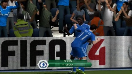 Fifa 14 My online goal compilation !!!