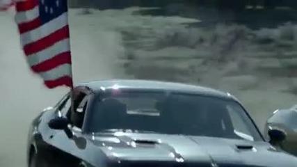 много готина реклама на Dodge Challenger