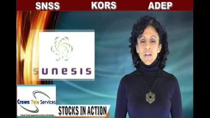 (kors, Snss, Adep) Crwenewswire Stocks In Action