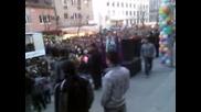 Велико Търново--street Parad 22.03.2012