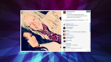 Kim Kardashian Back to Brunette?