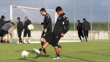 Даксон тренира с Локомотив, готов да играе срещу Лудогорец