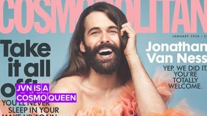 Jonathan Van Ness makes history on Cosmopolitan UK cover