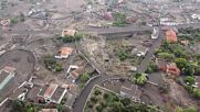 Spain: Devastation caused by Cumbre Vieja eruption visible in drone footage