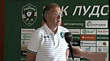 Дерменджиев: Нашата основна цел са групите на Шампионската лига