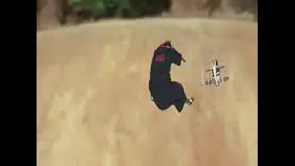 Killer Bee vs Sasuke