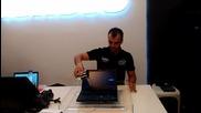 Crash test Lenovo Thinkpad в София част 2