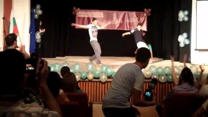 Free style танц за изпращането на Дтг свищов