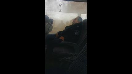 Спящ български полицай