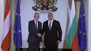Борисов се срещна с австрийския президент