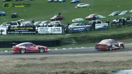 Drift Battle. Nissan S13 Vs Toyota Soarer