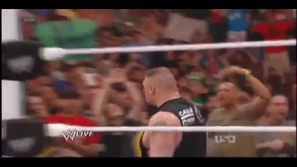 Brock Lesnar се върна и нападна John Cena 02.04.2012
