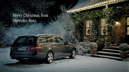 Коледна Реклама на Мерцедес !