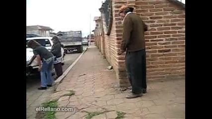 Пиян на улицата