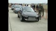 Honda Civic 2.0 Turbo [11.3@216] Vs. Nissan Skyline Gts