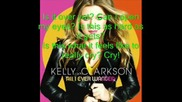 Kelly Clarkson - Cry + Lyrics