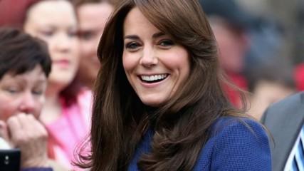 Българин облече Кейт Мидълтън! Красивата херцогиня заложи на скъпо кралско палто