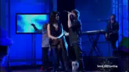 Justin Bieber Selena Gomez Hd Live One Less Lonely Girl