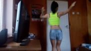 Dancing webcam