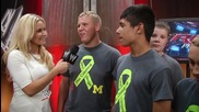 The Gandee Family of The Cerebral Palsy Swagger visits Raw: June 17, 2014