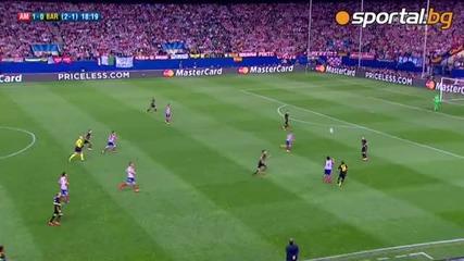 Пп Атлетико (мадрид) - Барселона 1-0 09.04.2014