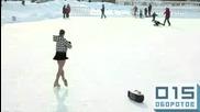 рекорд на деня на 07, 03, 2010 фигуристка поставя рекорд 156 завъртания в пирует