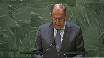 UN: 'We're all in the same boat' - Lavrov addresses the 76th session of the UN General Assembly