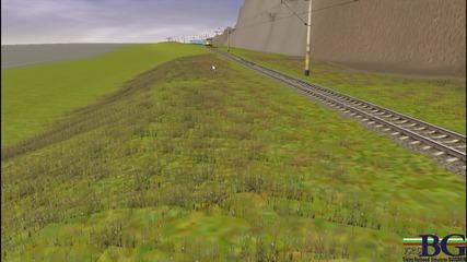 Bdz Trainz :влак Сл.бряг