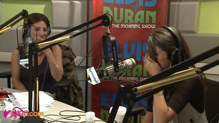 Селена Гомез говори за Джъстин Бийбър в интервю за Z100 Morning Show
