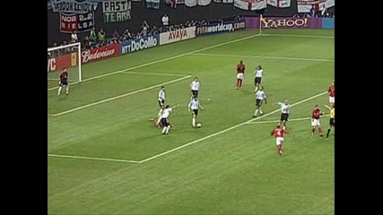 Аржентина-англия 0-1 2002 world cup